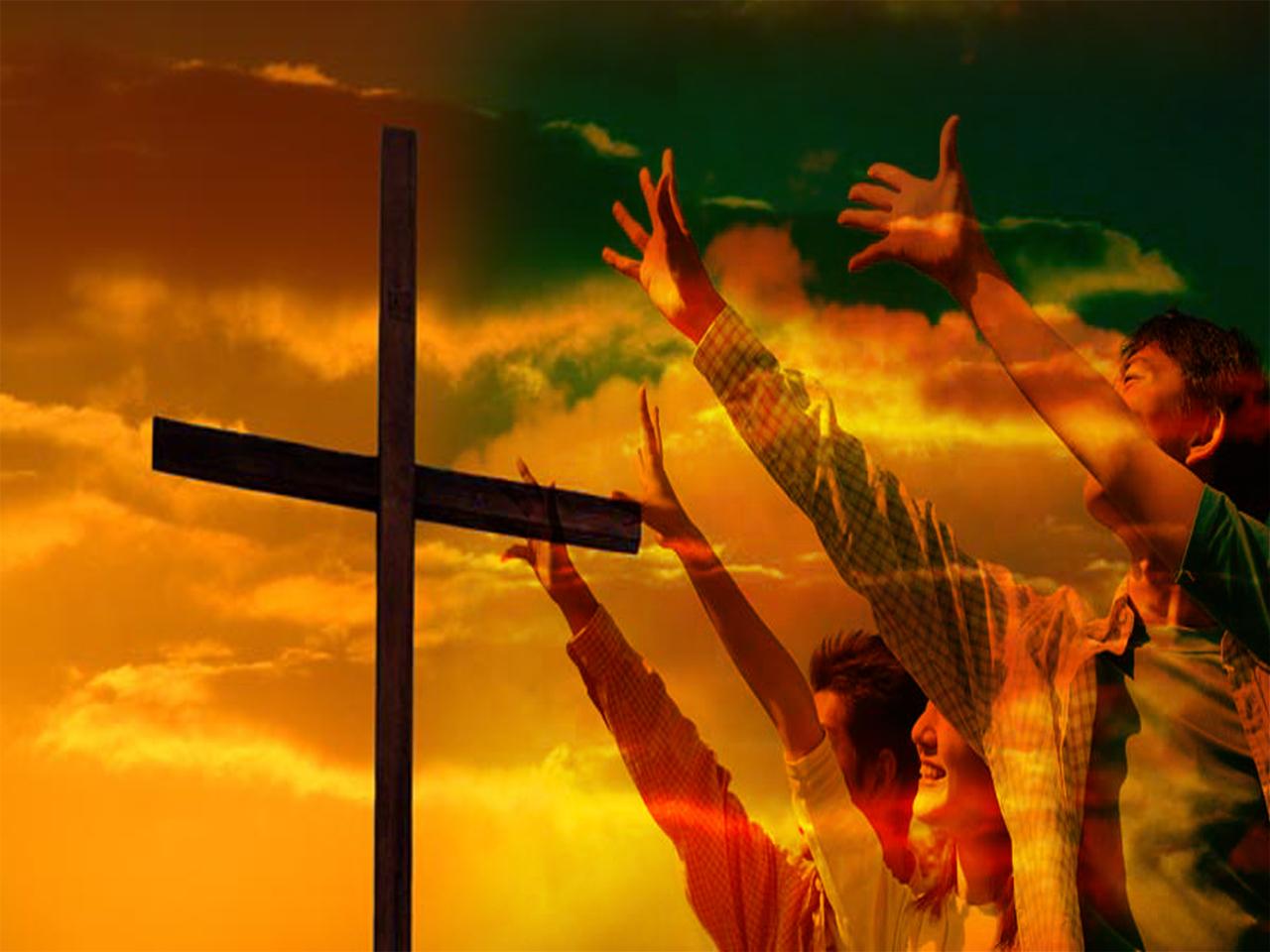 Jesus die Aanbidder