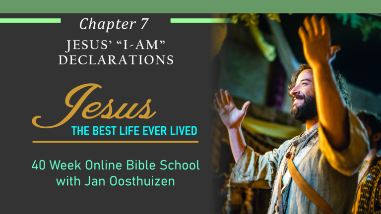 "The ""I-Am"" Declarations of Christ"