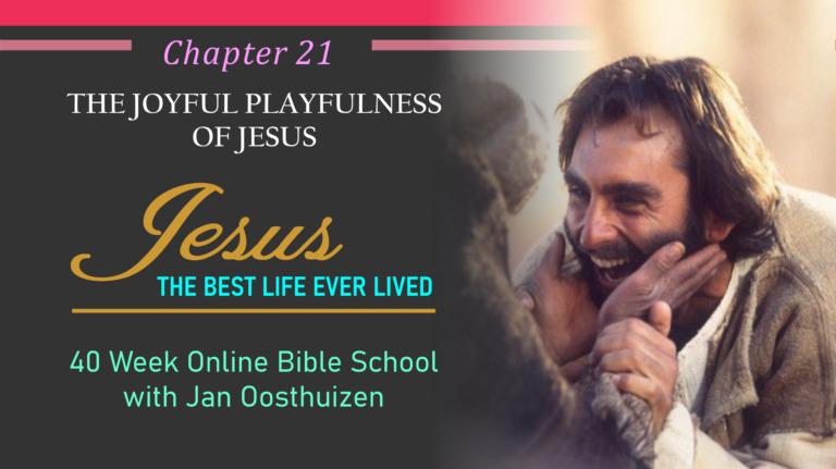 The Joyful, Playfulness of Jesus