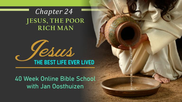 Jesus, The Poor Rich Man